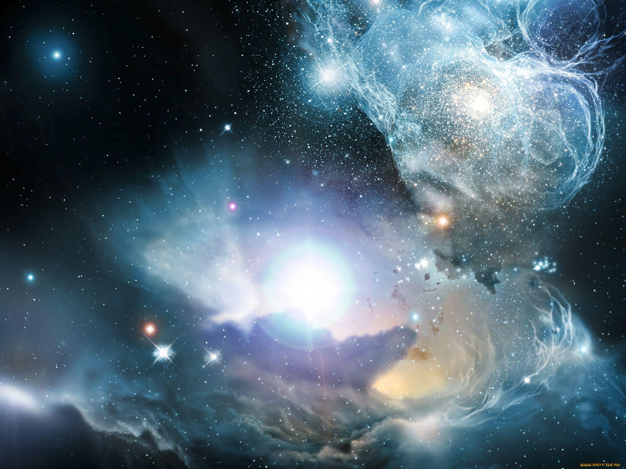 Космическая галактика картинки